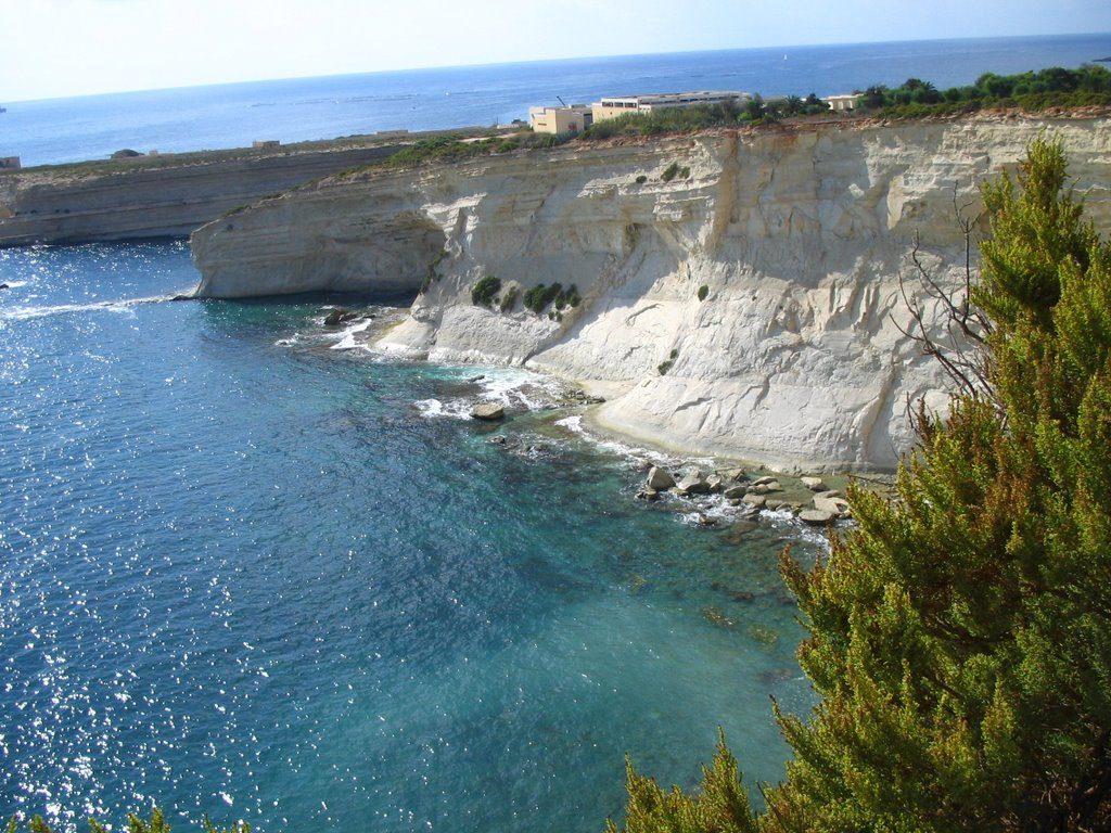 Mounter Cliffs off St. Thomas Bay